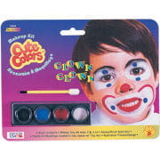 Clown Schminke für Kinder