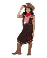 Cowgirl Deluxe Kinderkostüm