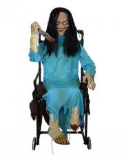 Crazy Zombie Girl In Wheelchair