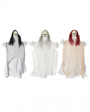 Spooky Ghost Doll Hanging Prop