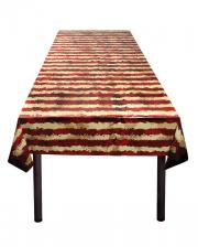 Creepy Horror Clown Tablecloth