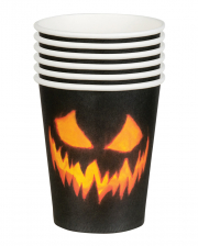 Creepy Pumpkin Mug 6pcs.
