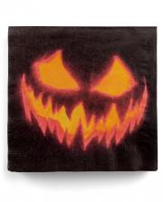 Creepy Pumpkin Servietten 12 St.