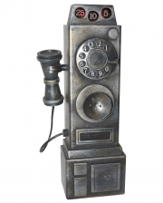 Creepy Vintage Phone With Light & Sound