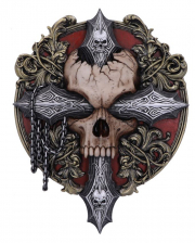 Cross of Darkness Wandbild 32cm