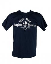 Cutglass Piercing Herren T-Shirt blau