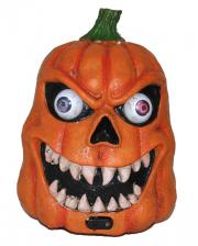 Dämonischer Halloween Kürbis mit LED & Sound