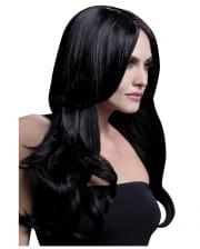 Damen Perücke Khloe schwarz