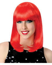 Revue Girl Wig With Pony Red