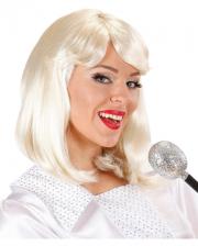 70er Popstar Agnetha Perücke