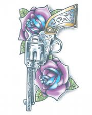 Day of the Dead Klebetattoo Revolver