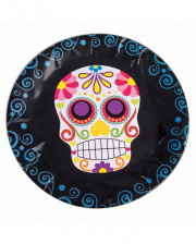 Day of the Dead Sugar Skull Pappteller