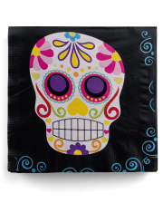 Day of the Dead Sugar Skull Servietten