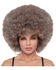 Deluxe Disco Afro Wig Mixed Blonde