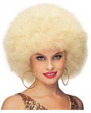 Deluxe Jumbo Afro Perücke blond