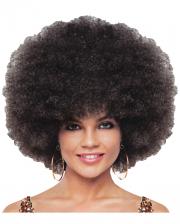 Deluxe Jumbo Afro Perücke braun