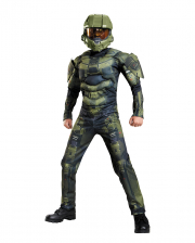 Halo Master Chief Kids Muscle Costume