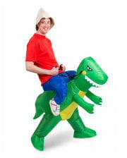 Dino Piggyback costume inflatable
