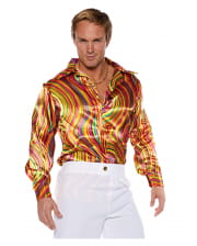 Disco Costume Shirt Multicolor