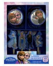 Disney Frozen Muffin Set 48 tlg.