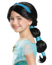 Disney Prinzessin Jasmin Perücke für Kinder