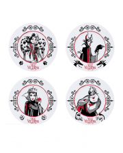 Disney Villains Plate Set