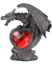 Dragon Figure With Red Heart