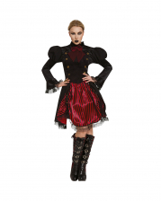 Düstere Gothic Fürstin Damen Kostüm