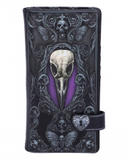 Edgars Raven Gothic Wallet 18,5cm