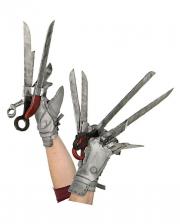 Edward mit den Scherenhänden Handschuhe