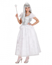 Ice Queen Costume White and Silver