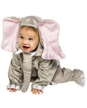 Plüsch Elefanten Kostüm 6 bis 12 Mon