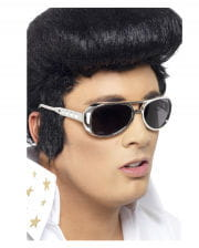 Elvis sunglasses silver