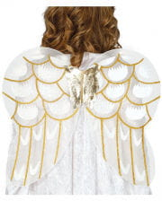Angel Wings White/gold