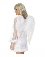 Angel Wings White 60 x 50cm