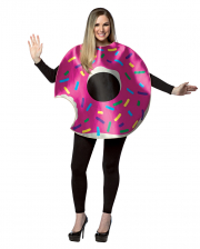 Strawberry Donut Costume With Bite
