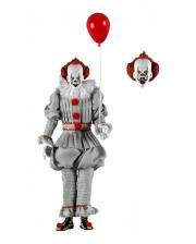 ES - Pennywise Action Figur 21 cm mit Bekleidung