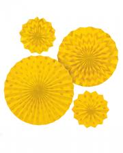 Fan Deco Set Yellow