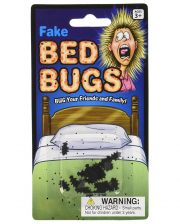 Falsche Bettwanzen Scherzartikel