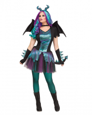 Fantasy Dragon Ladies Costume With Wings