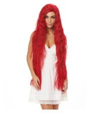 Fantasy Mermaid Wig Red