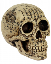 Fantasy Skull With Mystic Pattern