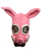 Fetish Bunny Gas Mask Pink