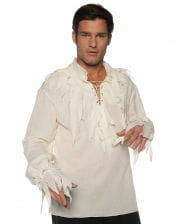 Fetzen Piraten Hemd creme