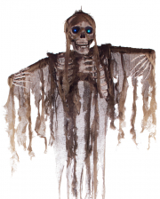 Skeleton With Glowing Eyes Hanging Figure 160cm