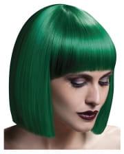 Damen Perücke Lola grün