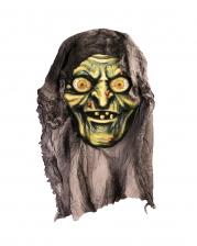 Hexen Kopf Deko mit Stoff
