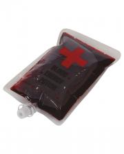 Film Blood In Transfusion Bag