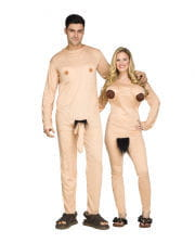 Naturist couple costume