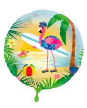 Flamingo Foil Balloon